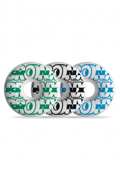 BRONX, BRONX Logo, Regular Shape, 100a, 52mm