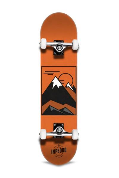 "Inpeddo, Hill, Skateboard Basic Compl, orange - 8.0"""