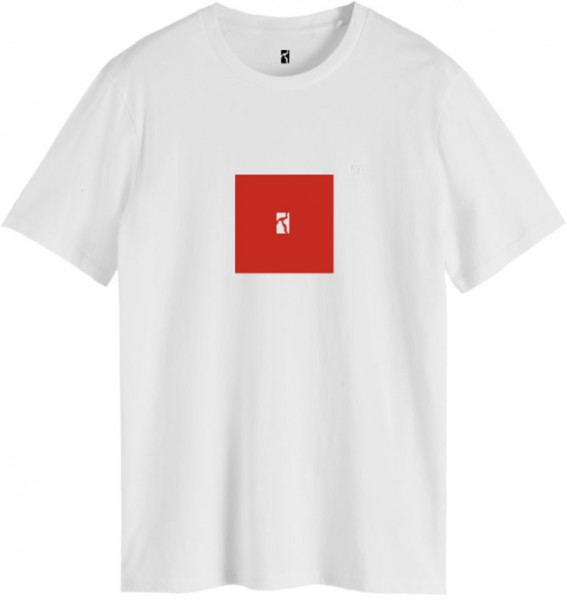 Poetic Collective, T-Shirt, Box, white / red