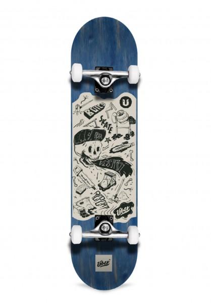 """Über, DIY, Skateboard 3-Star Complete, light blue - 8.0"""""""