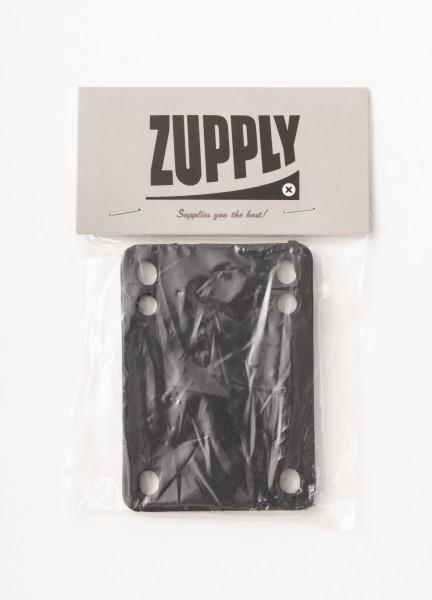 Zupply, Riserpad , Set of 2, black, 3 mm