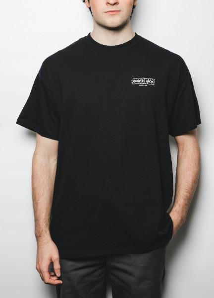 BRONX, T-Shirt, Logo, black