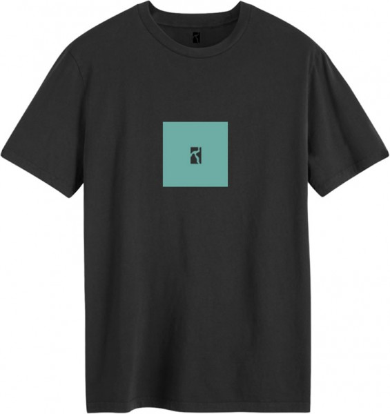 Poetic Collective, T-Shirt, Box, black / turquoise