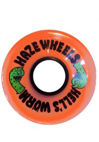 Haze Wheels, Hell's Worm, 60mm, 78a