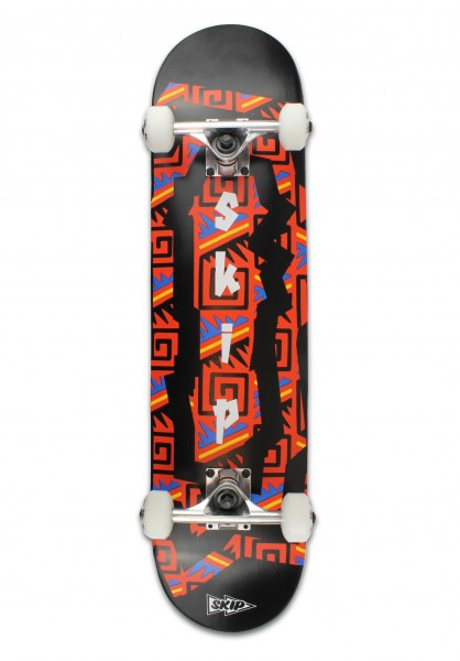 Skip Skateboards, Complete, Pattern - 7.75""