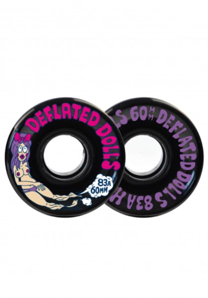 Haze Wheels, Deflated Dolls II, 60mm, 83a