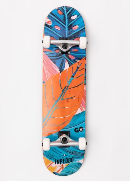 """Inpeddo X Gorilla, Skateboard Std Compl, orange - 7.875"""""""