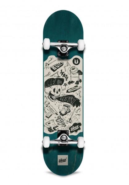 """Über, DIY, Skateboard 3-Star Complete, green - 7.5"""""""