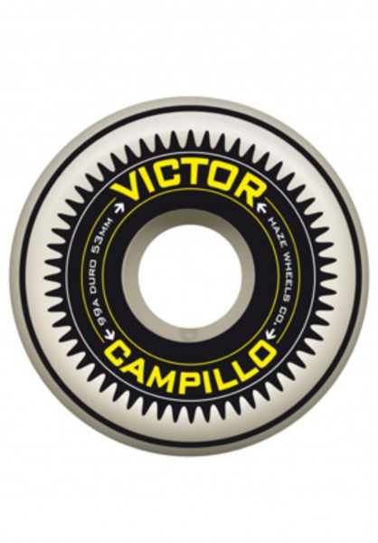 Haze Wheels,Victor Campillo, 10 Years, Beyond Formula, 53mm, 99A