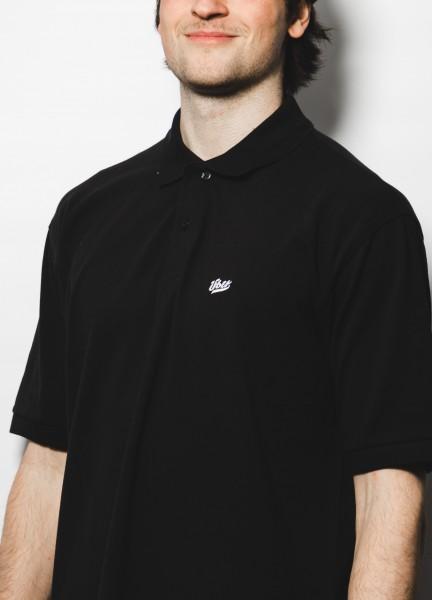 Über Skateboards, Poloshirt, Über Logo, black