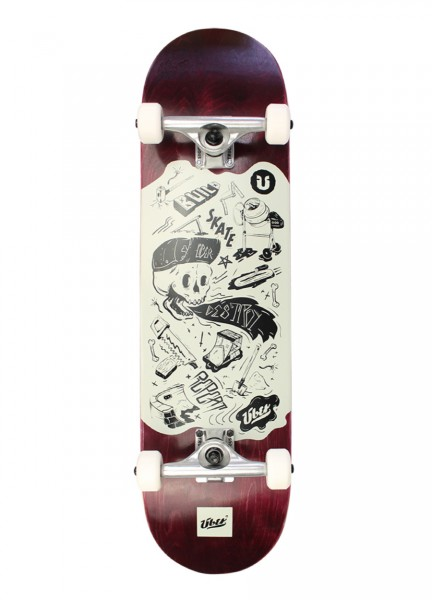 "Über, DIY, Skateboard 3-Star Compl. - 8.25"""