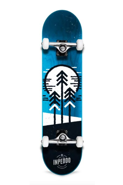 "Inpeddo, Forest, Skateboard Std Compl, blue - 7.75"""