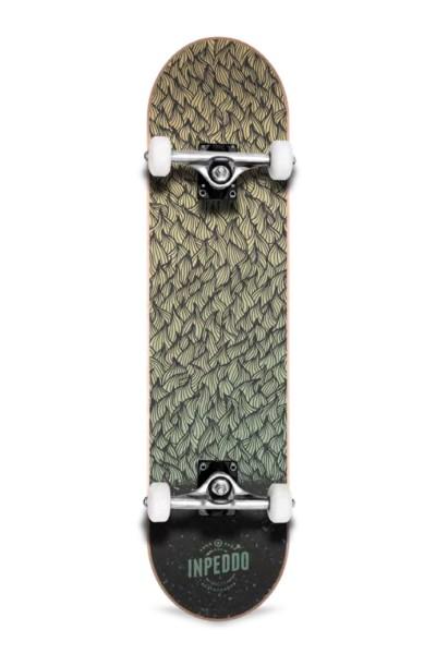 "Inpeddo, Feather, Skateboard Basic Compl, light green - 8.0"""