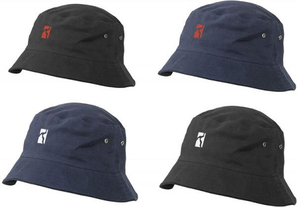 Poetic Collective, Bucket hat, navy / white