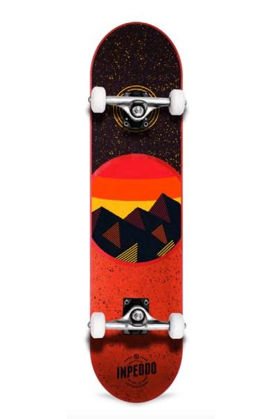 "Inpeddo, Mountain, Skateboard Std Compl, red - 7.875"""