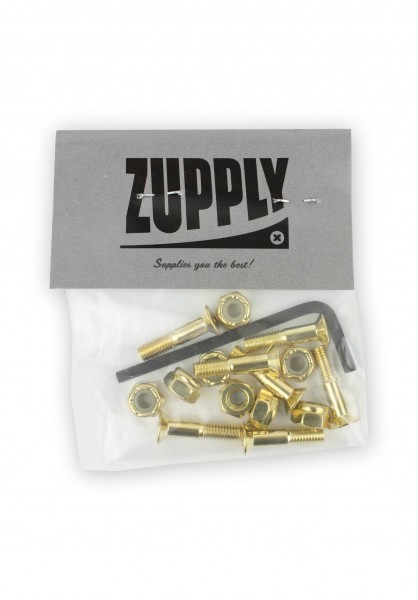 Zupply Montage Set, Inbus Gold - 7/8""