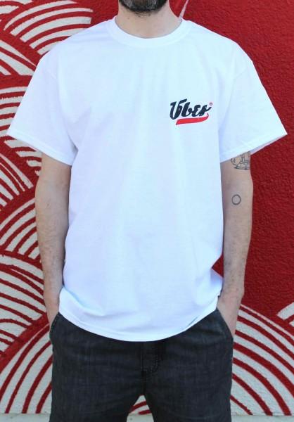 Über Skateboards, T-Shirt, Über Logo, white