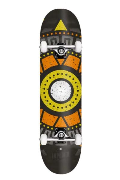 "Inpeddo, Apache, Skateboard Basic Complete, yellow - 8.0"""
