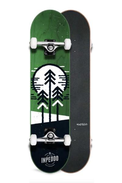 """Inpeddo, Forest, Skateboard Std Compl, lime-green - 8.25"""""""