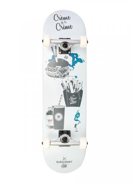 "ÜBER, Burgeramt, Creme de la Crime, Skateboard 4-Star Compl - 8.0"""