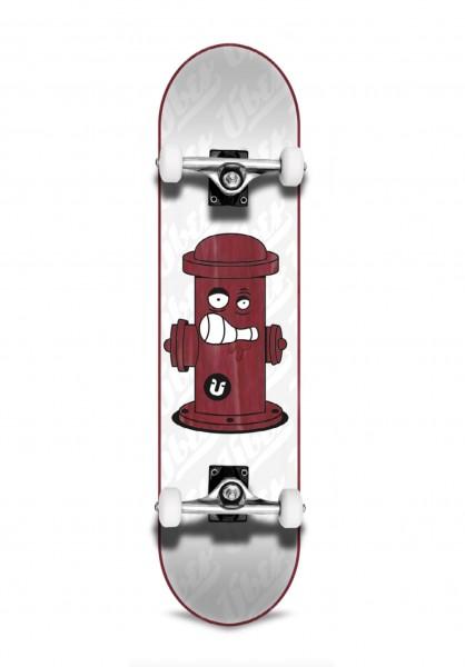 """Über Skateboards, Hydrant, Skateboard 3-Star Compl, wood red - 8.25"""""""