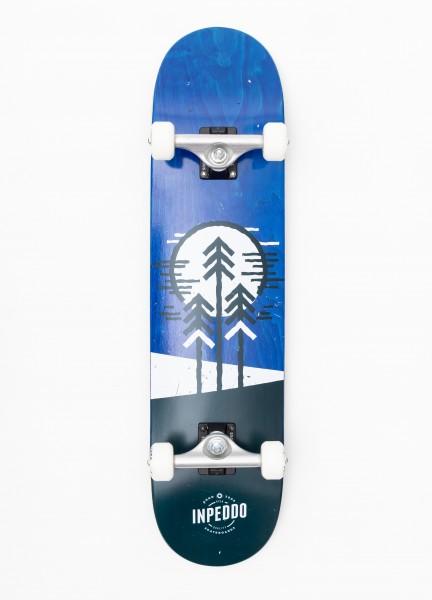 "Inpeddo, Forest, Skateboard Std Compl, blue - 8.5"""