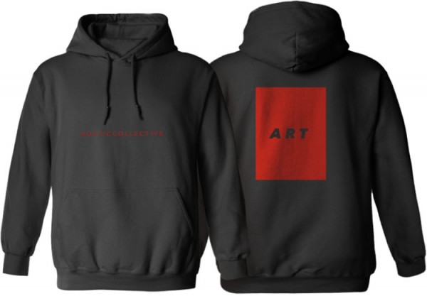 Poetic Collective, T-Shirt, ART, black / red