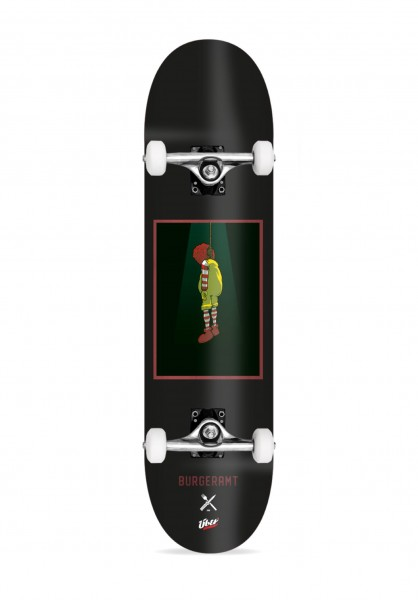 "ÜBER, Burgeramt, Ronald, Skateboard 4-Star Compl - 8.25"""