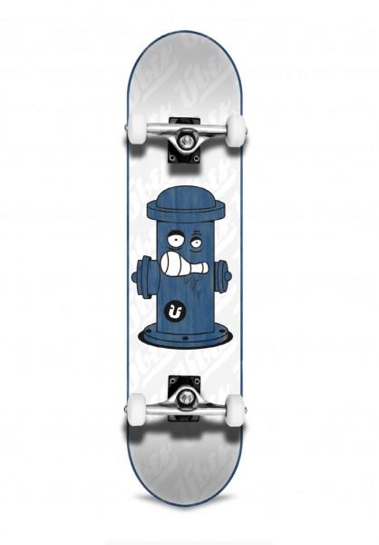 "Über Skateboards, Hydrant, Skateboard 3-Star Compl, blue - 7.75"""