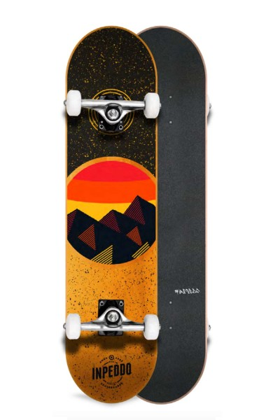 Inpeddo, Mountain, Skateboard Std Compl, orange - 8.125""