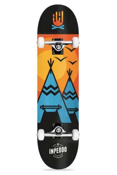 Inpeddo, Wigwam, Skateboard Std Compl, light blue