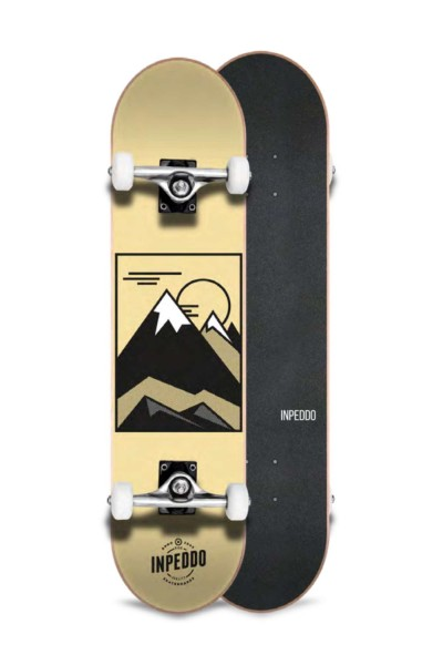 """Inpeddo, Hill, Skateboard Basic Compl, sand - 8.25"""""""