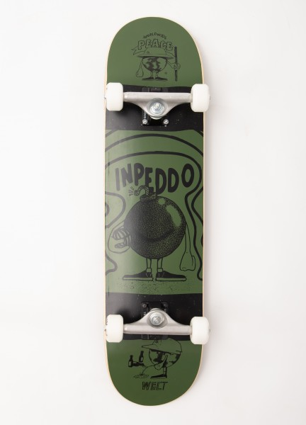 "Inpeddo, Earthling, Skateboard Std Compl - 8"""