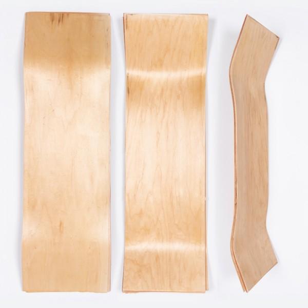 """Zupply, Raw Uncut Skateboard Blank Deck, 33"""" x 9.5"""""""