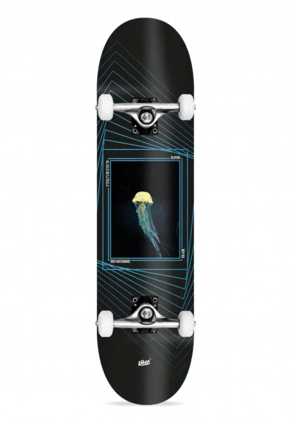 Über Skateboards, Jelly, Skateboard 4-Star Compl, blue