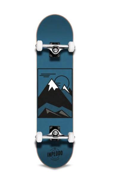 "Inpeddo, Hill, Skateboard Basic Compl, blue - 7.75"""