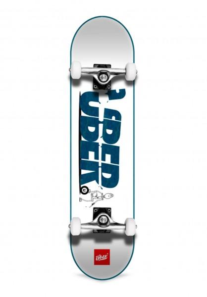 """Über Skateboards, Slice, Skateboard 4-Star Compl, blue - 7.75"""""""
