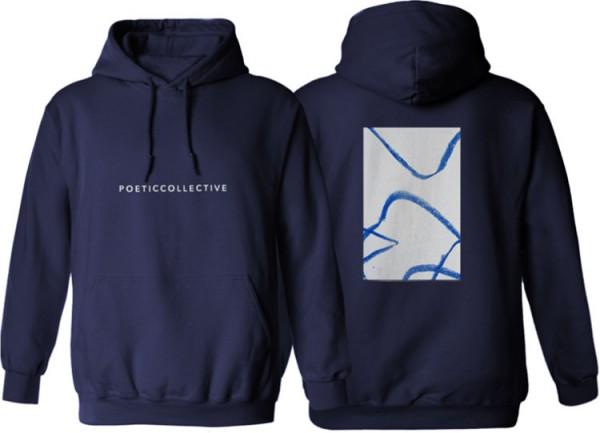 Poetic Collective, Hoodie, Doodle, navy