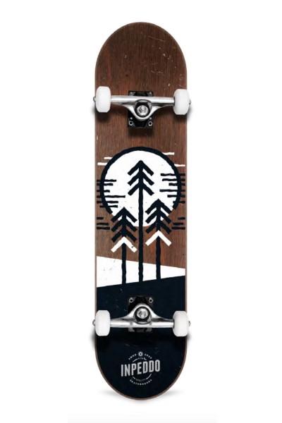 "Inpeddo, Forest, Skateboard Std Compl, brown - 8.0"""
