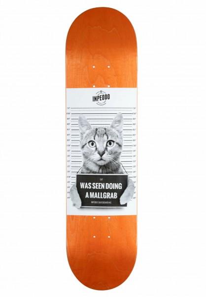 """Inpeddo, Mallgrab Cat, Deck MC, orange - 7.875"""""""