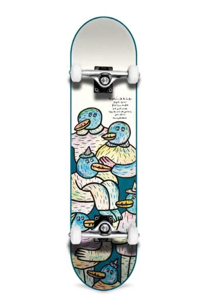 """Inpeddo, Lucas Beaufort Friends, Skateboard Std Compl, light blue - 7.25"""""""
