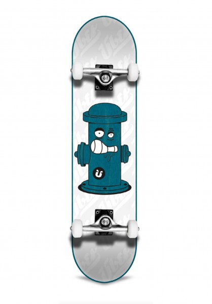 Über Skateboards, Hydrant, Skateboard 3-Star Compl, light blue