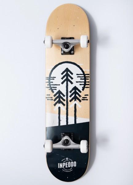 """Inpeddo, Forest, Skateboard Std Compl, natural - 7.625"""""""