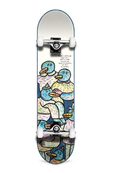 Inpeddo, Lucas Beaufort Friends, Skateboard Std Compl, blue - 7.75""