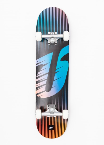 """Über Skateboards, BIG Ü, Skateboard 3-Star Compl, blue - 7.75"""""""