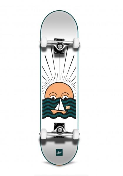 "Über Skateboards, Sunset, Skateboard 3-Star Compl, green - 8.125"""