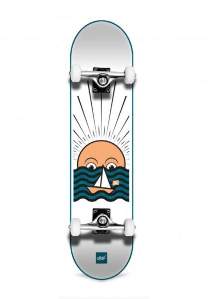 """Über Skateboards, Sunset, Skateboard 3-Star Compl, light blue - 8.0"""""""